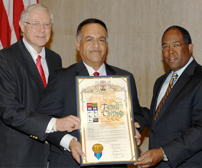 Veteran KNBC News Reporter/Anchor Furnell Chatman Honored