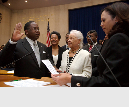 Supervisor Ridley-Thomas Joins the Los Angeles County Board of Supervisors