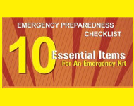 Emergency preparedness: 10 items to have in your kit