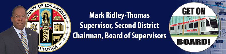 Supervisor Mark Ridley-Thomas, Get On Board!