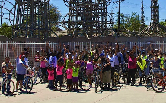 Transforming Lives of Watts Kids: One Bike Ride at a Time