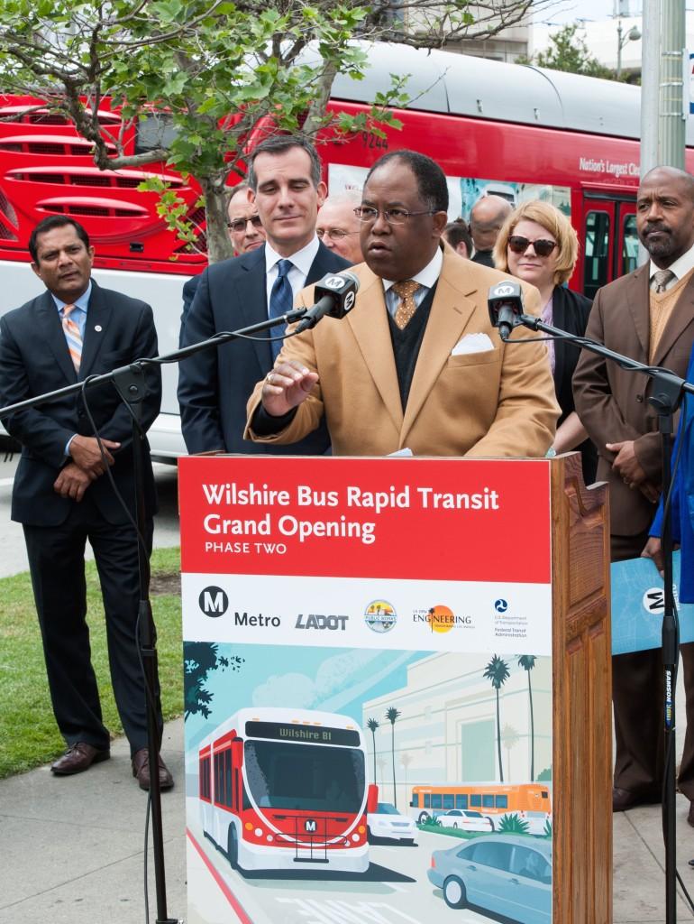 Metro's Wilshire Bus Rapid Transit Grand Opening
