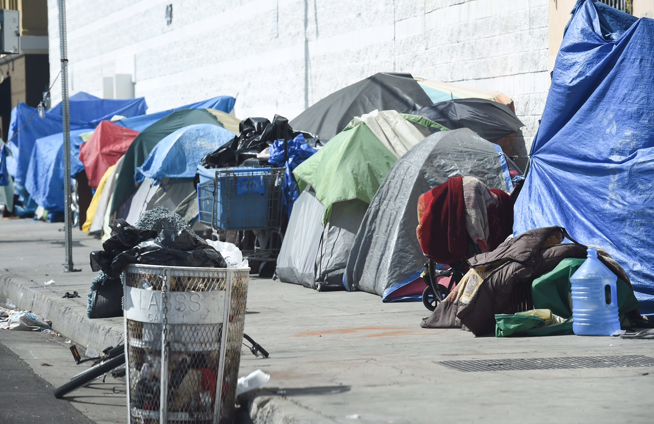 Housing the homeless on skid row supervisor mark ridley for Los angeles homeless shelter