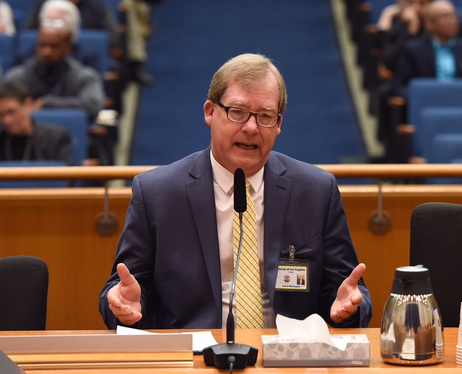 Interim Chief Probation Officer Cal Remington